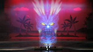 八景島シーパラダイス「ウミージカルショー ~La・Paci~」プロジェクションマッピング